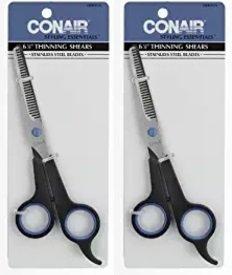 CONAIR 80016 6 1/2 Professional Thinning Shears Conair Brushes