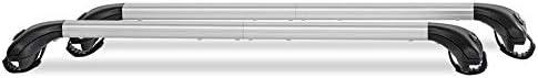 per Volvo V50 0408 corrimano Generico Barre Portatutto Portapacchi telescopiche Ariete per Railing Alti