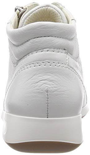 Alto 1234410 Bianco Ara 25 A Rom Donna Sneaker weiss Collo 50wwXPq