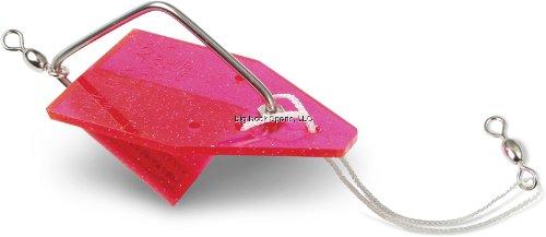 Luhr Jensen Pink Lady Diver, Pink Crystal, 4 1/2-Inch