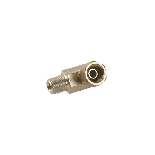 Pack of 15 pcs 90 Degree Alemite 1001-44 1//4 NPTF Male x 1//4 NPSM Female Swivel Union Adapter