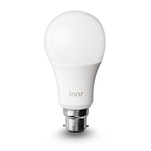 -[ Innr B22 smart, colour, dimmable, retrofit RGBW LED bulb (Hue* & Alexa compatible) BY 185C
