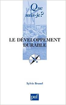 Le Développement durable 2 ed