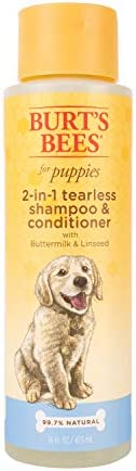 Burt's Bees 2 in 1 Puppy Shampoo, 16-O