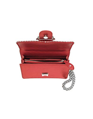 Women's Bag Red Pinko Shoulder Leather 1P219TY4Y9R52 xYwqC0dZ