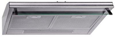 PKM UBH3001 H Unterbauhaube / Breite: 60 cm / 180 m3h / Alufront / Glasschirm / Edelstahl