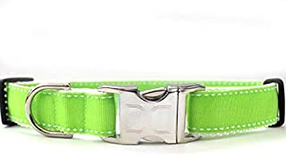 product image for Preppy Custom Dog Collar in Lime XS/S