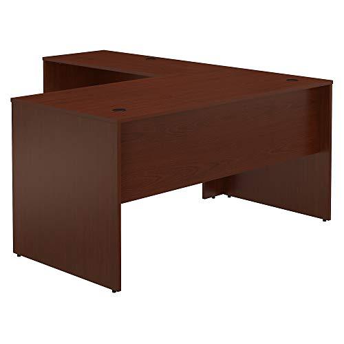 Bush Furniture Commerce 60W L Shaped Desk in Autumn Cherry ()