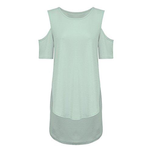 THE FASHIONISTA - Camiseta sin mangas - para mujer verde menta