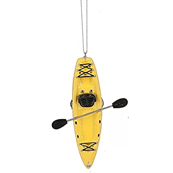 Amazon.com: GALLERIE II Kayaking Christmas Xmas Ornament ...