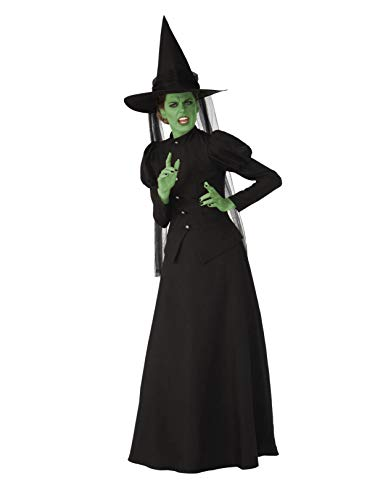 The Wizard Of Oz Wicked Witch Costumes - Rubie's Super Womens Deluxe Wicked Witch
