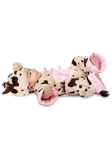 Baby In Cow Costume (Princess Paradise Sleepy Cow Child's Costume,)