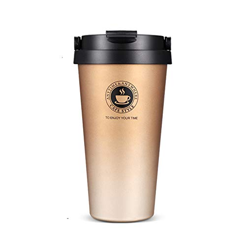 SLOSH Vaso Termico Cafe Termo Taza Termica Viaje Botella Acero Inoxidable 500ml
