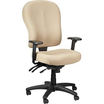 Tempur-Pedic TP4000 Ergonomic Fabric Mid-Back Task Chair, Beige