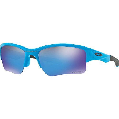 Oakley Mens Quarter Jacket Prizm Youth Fit Sunglasses, Sky Blue/Prizm Sapphire , One - The Blue Jacket Of Quarter