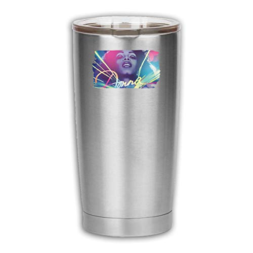 Alberto J Campbell Donna Summer 18 OZ Tumbler Vacuum Insulated Stainless Steel Coffee Cup with Lid - Travel Mug Works Great for Ice Drink Hot Beverage