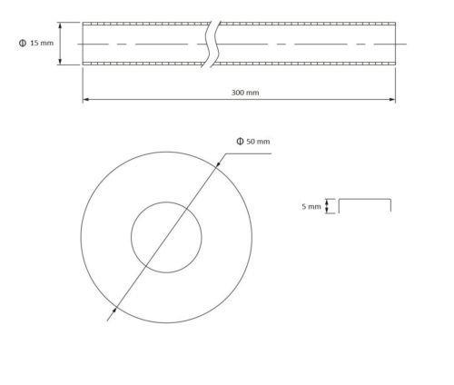 Cromado lat/ón radiador toallero tuber/ías tubo conectores bridas 15/mm par