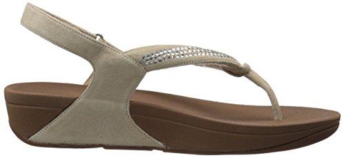 Fitflop Sandalias De Dedo Crystal Swirl TM Sandal Nude Nude