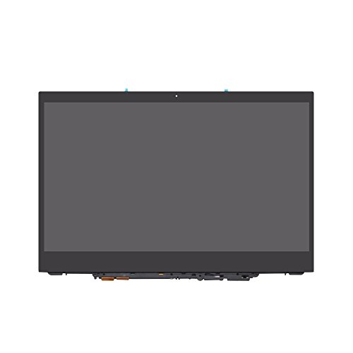 (LCDOLED Compatible 12.5 inch 1920x1080 IPS LCD Display Touch Screen Digitizer Assembly + Bezel + Control Board Replacement for Lenovo Yoga 720-12IKB 81B5 81B5003PUS 81B5003QUS 81B5003RUS 81B5000KUS)