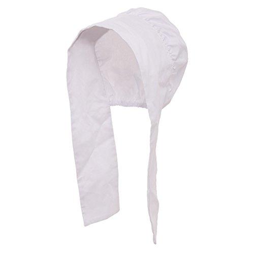 GRACEART Women's Mob Cap Bonnet Colonial Costume Accessory 100% Cotton (Style-4) by GRACEART (Image #3)