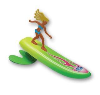 Aussie Mallet - Surfer Dudes Wave Powered Mini-Surfer and Surfboard Beach Toy - Aussie Alice