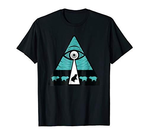 Shane Dawson All Seeing Eye Abducting Oh My God Pig T-shirt