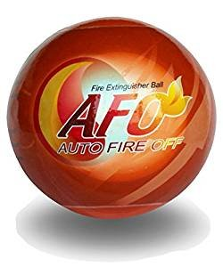 AFO Fire Ball, ABC Fire Extinguisher, Fire Suppression Device, Fire Safety Product With Sign ()