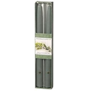 Amazon.com: Cape Candle - Real Bayberry Wax Tapers 8 Inch boxed ...