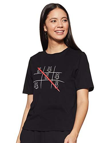 Mirako by Van Heusen Women's Regular fit T-Shirt