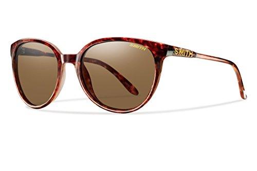 Smith Optics Women's Cheetah Lifestyle Sunglasses/Eyewear, Vintage Havana/Brown, - Slider Smith Sunglasses