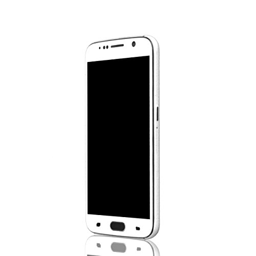 AppSkins Vorderseite Samsung Galaxy S6 Leather white