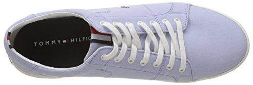 Sneaker Hilfiger Blue Uomo Lace Scarpe Iconic 425 da Tommy Blu Ginnastica Long Halogen Basse dZUqw7UI