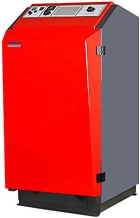 Caldera de pellets Atmos P 25 24 kW Incl. A25 Voluta Silo BAFA reserva