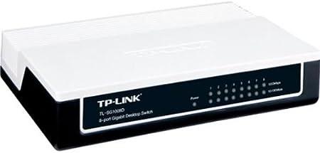 Tp Link Tl Sg1008d 8 Port Gigabit Desktop Switch Elektronik