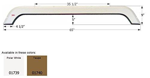 UPC 628423017407, ICON R-Vision Tandem Fender Skirt FS1739, Taupe