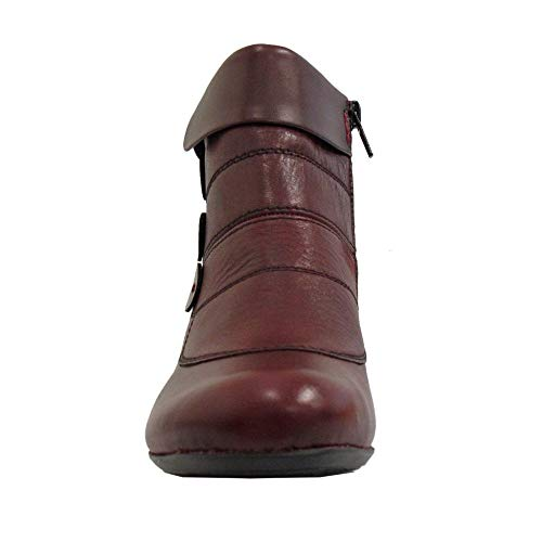 Red 35 Slouch Women's 70562 Rieker Burgundy Boots xwFRUSIOPq
