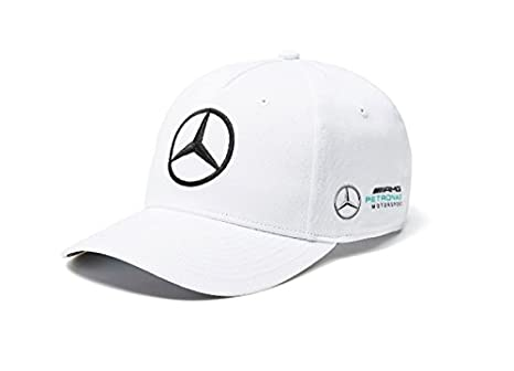 Mercedes AMG F1 Team Puma Baseball Berretto Bianca Ufficiale 2018 ... 07041fb9db58