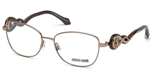 (Roberto Cavalli CALCINAIA RC5027-034 METAL EYEGLASS FRAME Bronze 54MM)