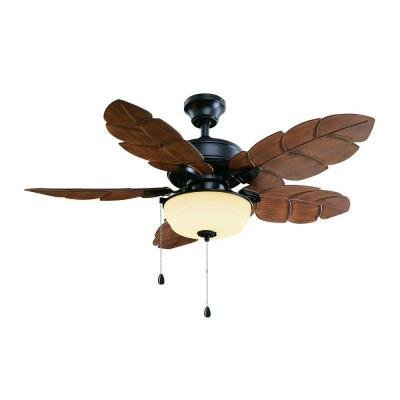 Palm Cove 44 in. Outdoor Natural Iron Ceiling Fan