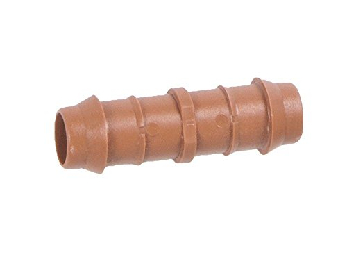 One Stop Outdoor 25-PACK - Drip Irrigation Universal Barbed Coupling Fitting, Fits of 17mm.600 ID 1/2''-Inch Drip Tubing by One Stop Outdoor