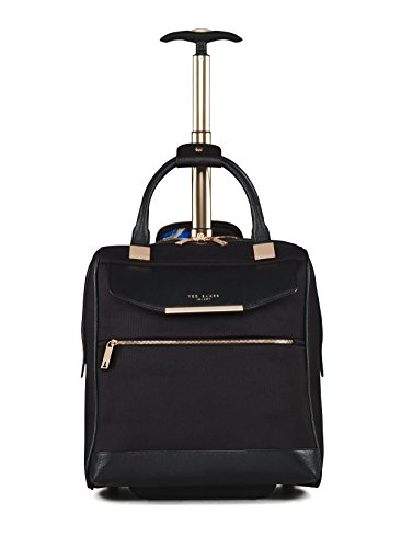 Ted Baker Womens Albany Softside Wheeled Business Case (One Size, Black) by Ted Baker (Image #1)