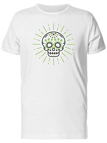 Icon Skull Day Of The Dead Tee Men's -Image by Shutterstock