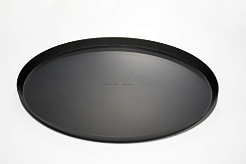 Aluminum Anodized Aluminum Pizza Pan - LloydPans 12x.75 inch Pizza Cutter Pan, Pre-Seasoned PSTK, Anodized Aluminum
