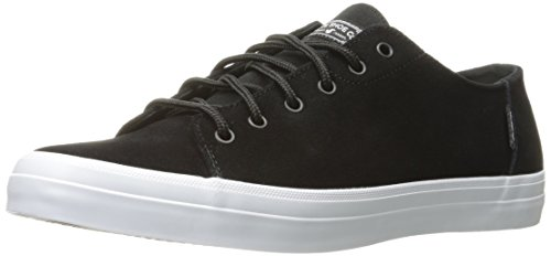 Suede DVS Black Schwarz Baskets Edmon Black Homme Shoes 00BAHw