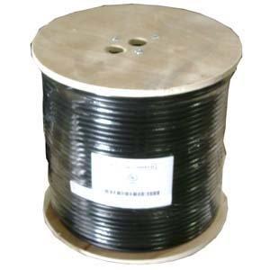 InstallerParts 1000 ft RG6 Quad Shield Coax Cable CMP White CCS ()