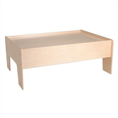 Little Colorado Kids Learning Activity Play Table Sanded and Unfinished by Little Colorado