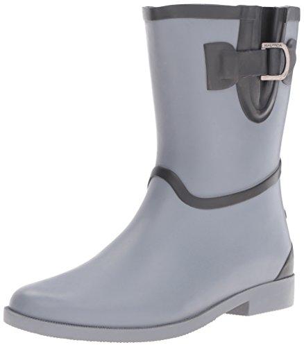 Nautica Da Donna Stringer Rain Boot Storm Gray