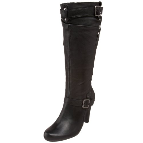 GUESS Womens Panoa Boot Black BaiuQnPq