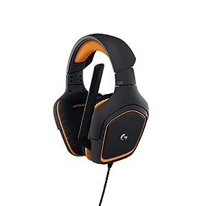 Logitech G231Prodigy Binaural saç bandı Siyah kulaklık-(, oyun konsolu, Binaural, saç bandı, siyah, turuncu, kontrol online, kablolu,)