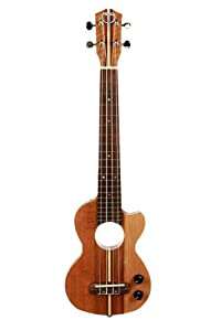 teton tenor electric ukulele with solid mahogany body headphone output mp3 input w. Black Bedroom Furniture Sets. Home Design Ideas